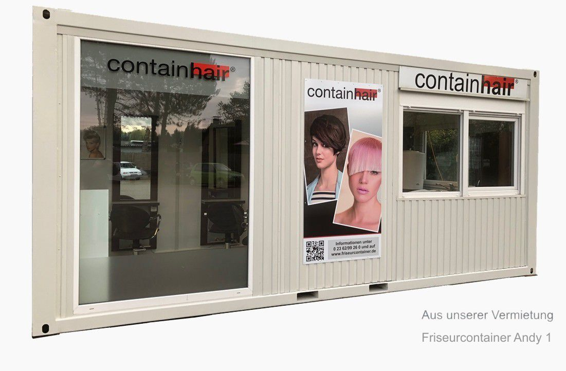 Friseurcontainer Daisy