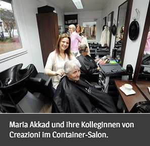 Friseurcontainer